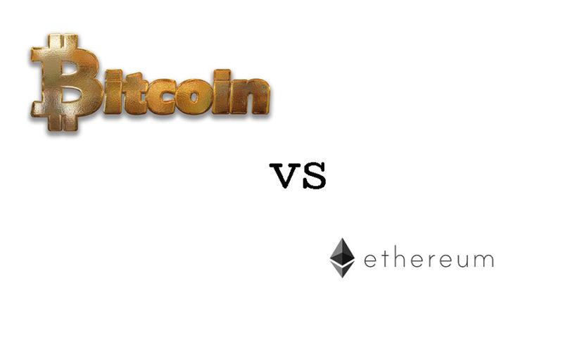 A Comparison: Ethereum vs Bitcoin